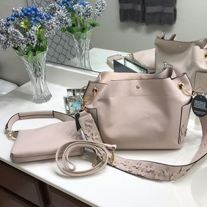 "JUST IN -Blush (khaki) Marc New York ""5 Bags in 1"""